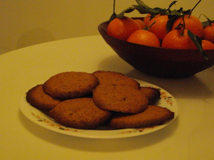 Recette de cookies aux spéculoos