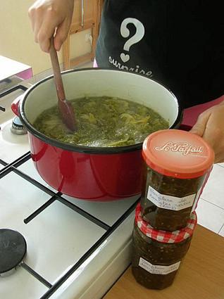 Recette confiture de tomates vertes (confiture)