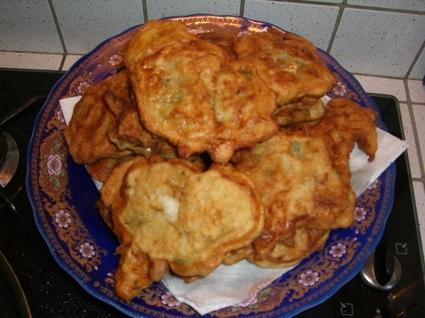 Recette de pataniscas (galette de morue)
