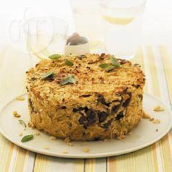 Recette gâteau de riz aux châtaignes et à la sauge – toutes les ...