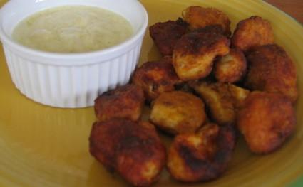 Recette de nuggets de poulet express et sauce curry