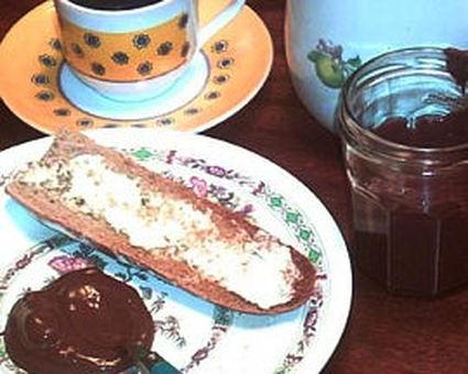 Recette de pâte à tartiner chocolat/noisettes