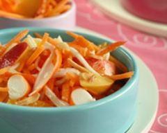Recette salade tout orange