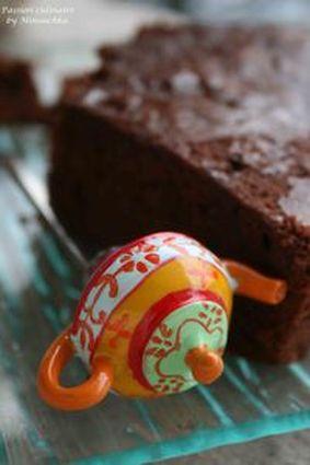 Recette de fondant au chocolat noir, miel et piment d'espelette