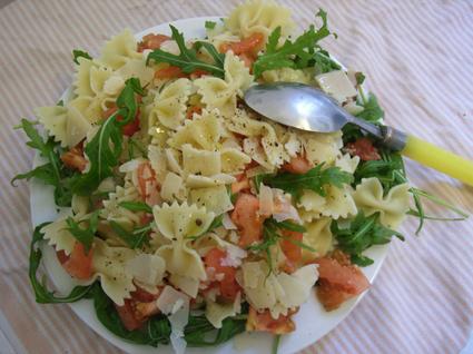 Recette de salade de pâtes à l'italienne
