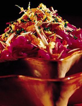 Chou rouge en salade 1 pour 4 personnes