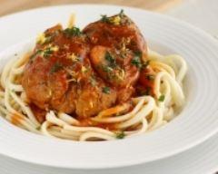 Recette osso bucco à la tomate et sa gremolata