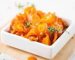 Recette sauté de carottes au thym