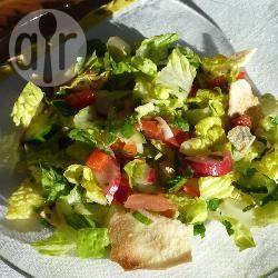Recette salade fattouche – toutes les recettes allrecipes