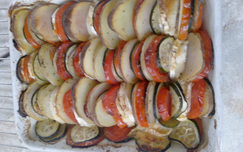 Recette tian provençal pas chère et simple > cuisine étudiant