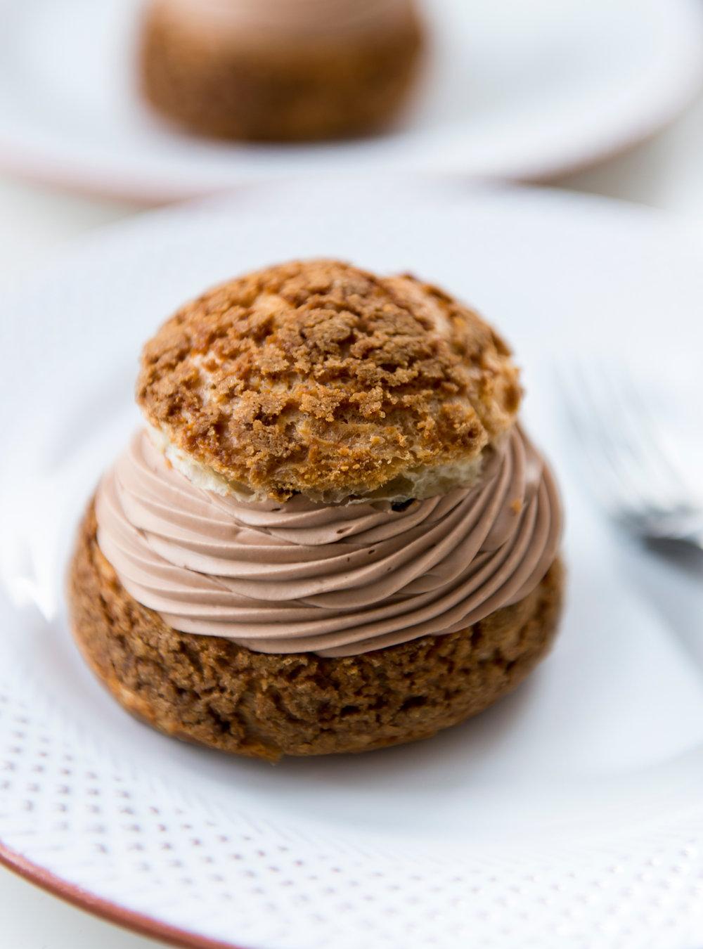 Choux au chocolat et café st-henri de patrice demers | ricardo
