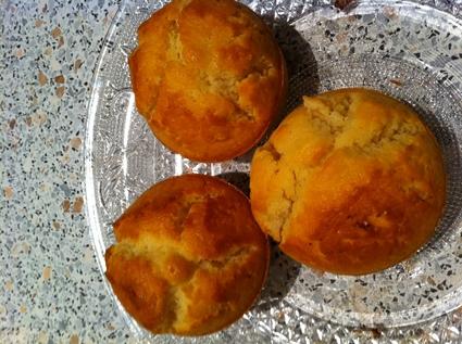 Recette de muffins coeur chocolat