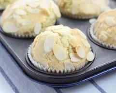 Recette muffins au chocolat blanc et amandes