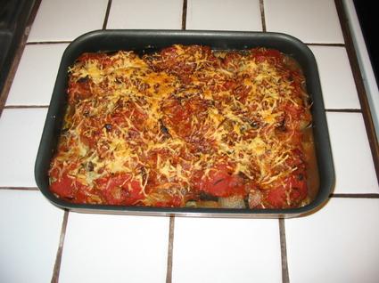 Recette de lasagnes d'aubergines