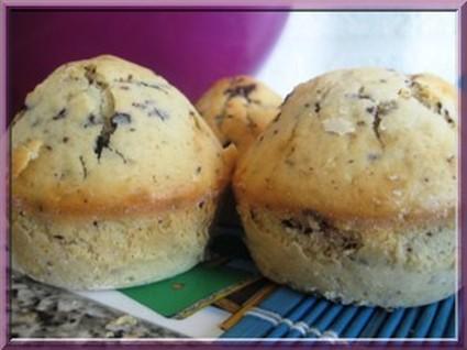 Recette de muffins aux pépites de chocolat inratables