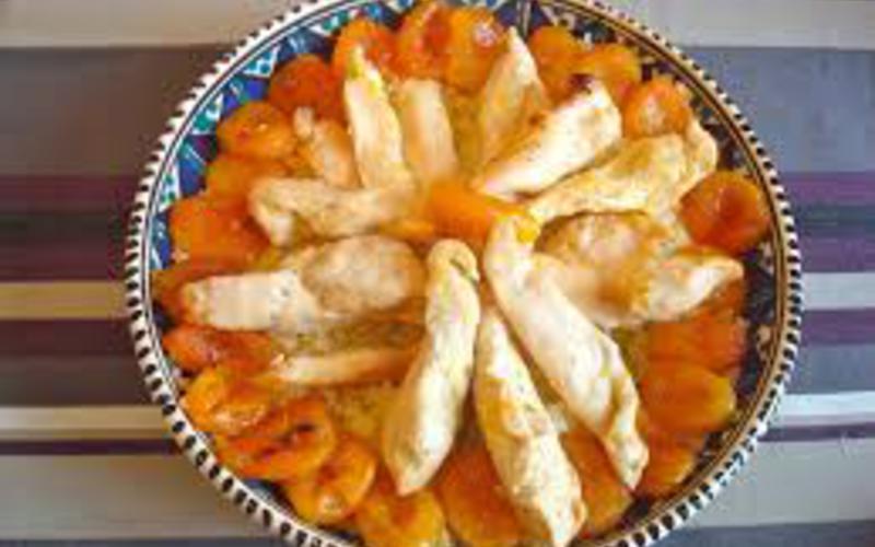 Recette poulet aux abricots de fanny économique et facile ...