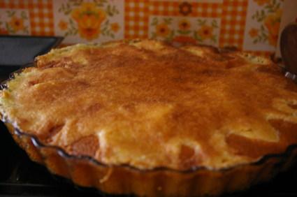 Recette de tarte flamande aux pommes