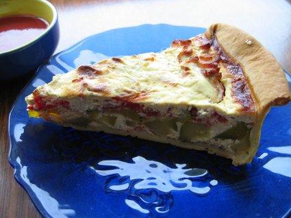 Recette de tarte légère courgettes-tomates