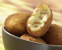 Recette croquettes de pommes de terre au cheddar