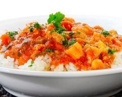 Recette poulet au curry thaï