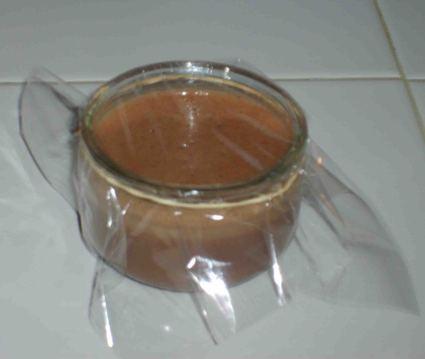 Recette de petits pots de crème au chocolat