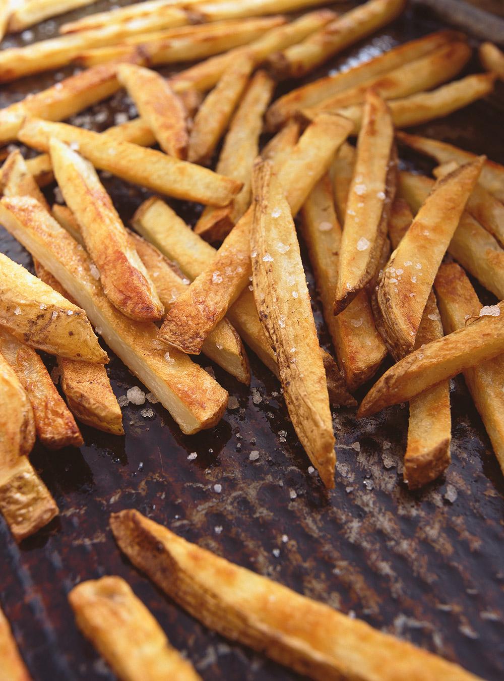 Frites au four à l'huile d'olive | ricardo