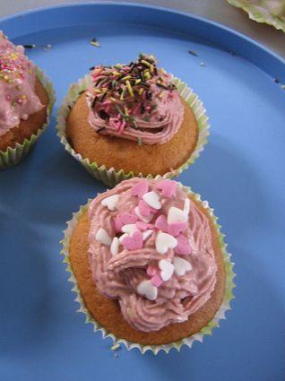 Recette de cupcake vanille au philadelphia
