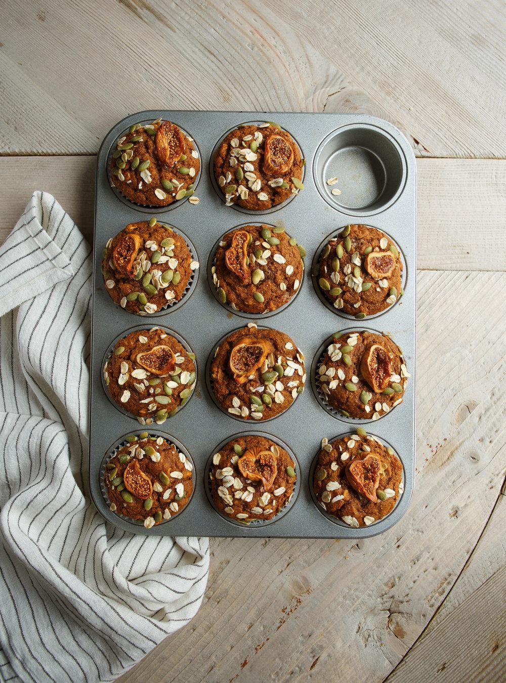 Muffins-déjeuner aux patates douces | ricardo