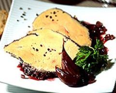 Recette foie gras au vin rouge