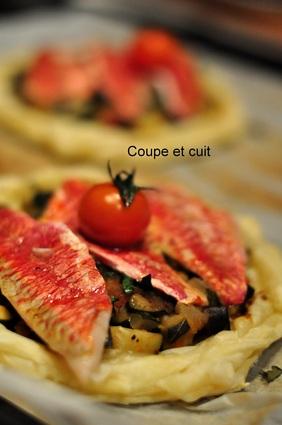 Recette de tartelettes de rougets à la provençale