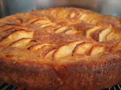 Recette de gâteau crousti-fondant aux pommes