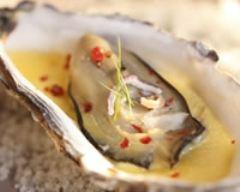 Recette huîtres au champagne
