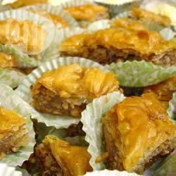Recette baklava aux noix et au miel – toutes les recettes allrecipes