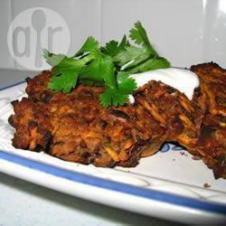 Recette galettes épicées aux haricots noirs et à la patate douce ...