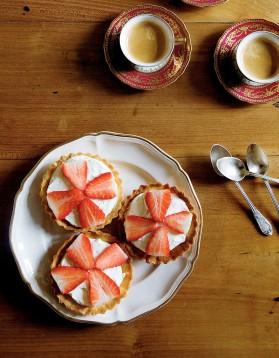 Tartelettes aux fraises et mascarpone de mimi thorisson pour 4 ...