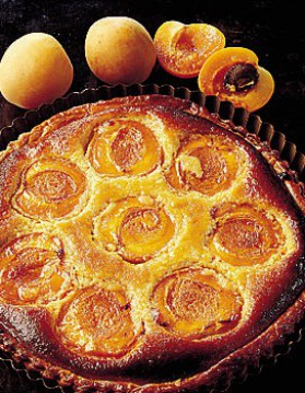 Tarte aux abricots et miel pour 4 personnes