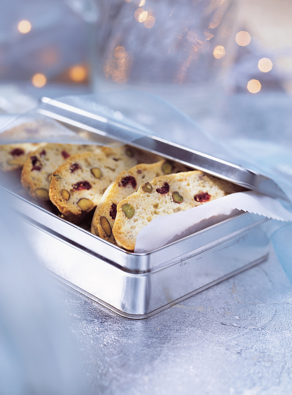 Biscottis aux canneberges et aux pistaches | ricardo