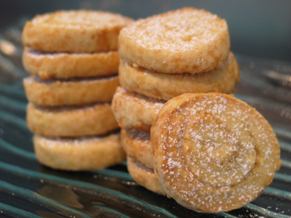 Recette de biscuits escargots au sucre caramélisé
