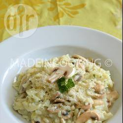 Recette risotto aux champignons de made in cooking – toutes les ...