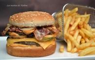 Recette de hamburger au bacon