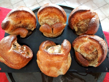 Recette yorkshire puddings