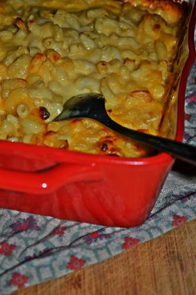 Recette de les macaroni au fromage de monica (friends)