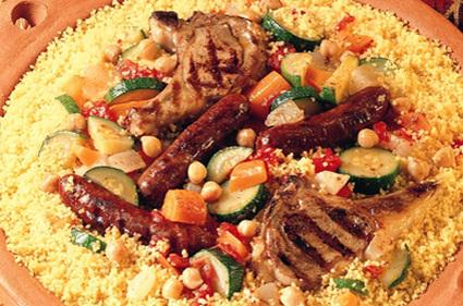Recette de couscous royal marocain