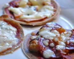 Recette mini galette de sarrasin façon mini-pizzas