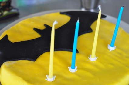 Recette de gâteau d'anniversaire pour little batman