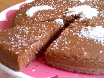 Recette de moelleux au chocolat et noix de coco