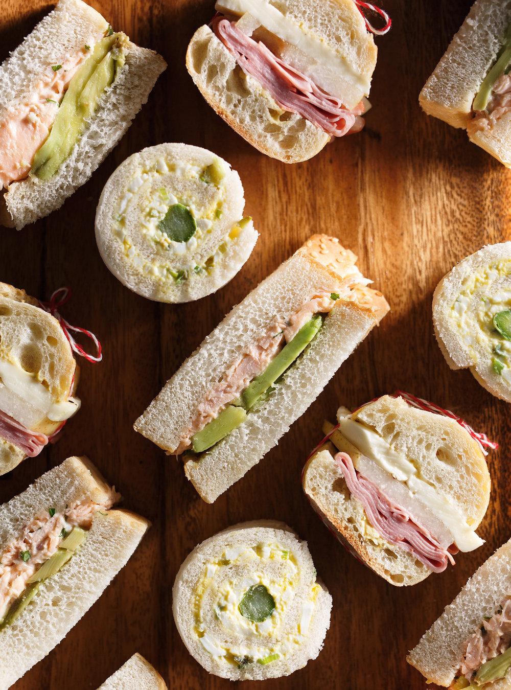 Sandwichs roulés aux oeufs | ricardo