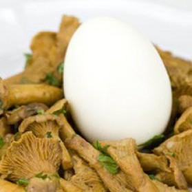 Oeufs mollets à la fricassée de champignons pour 4 personnes ...