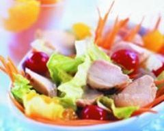 Recette salade de lapin au zeste d'agrumes