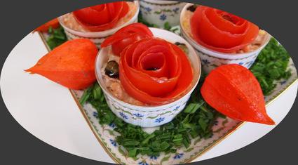 Recette de tartare aux deux saumons et ses tomates